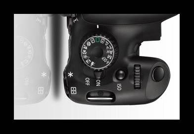 dial de modos en las cámaras digitales