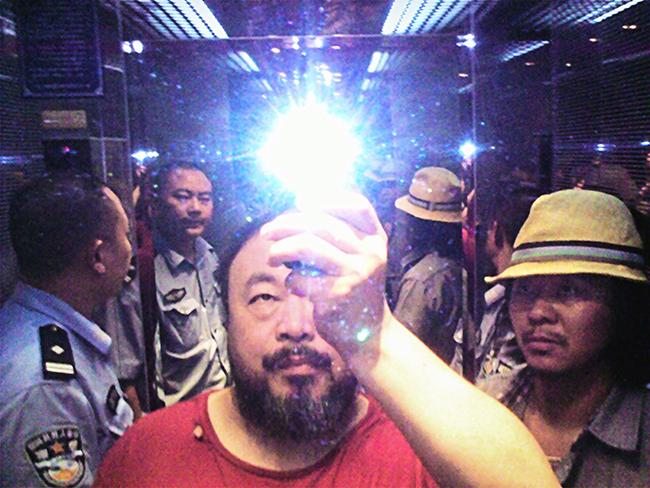 una Selfie en manos de un artista del calibre de Ai Wei Wei