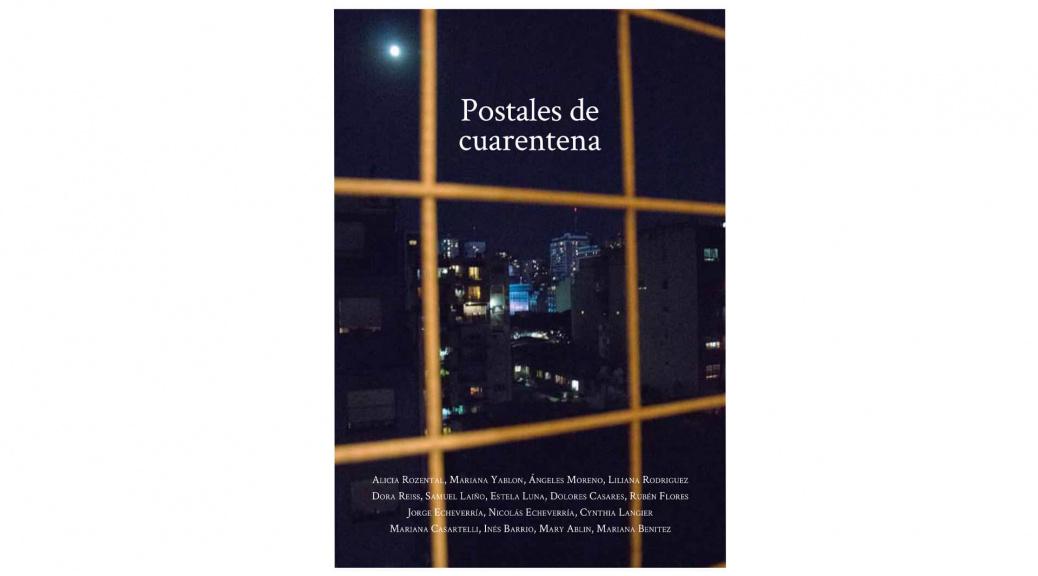 """expresarte con fotos te libera: la portada del libro """"Postales de Cuarentena""""que concibieron las alumnas del Taller Avanzado"""